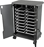 ventilated laptop cart - Balt Tablet Charging Cart, 27689, 16 Compartments, 30.75