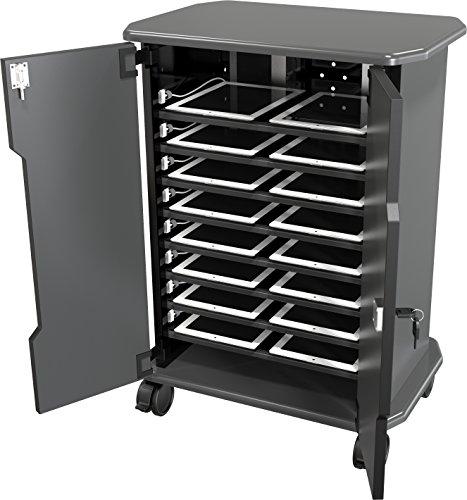 (Balt Tablet Charging Cart, 27689, 16 Compartments, 30.75