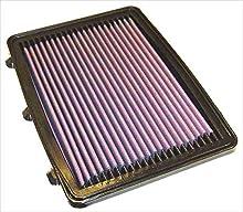K&N 33-2748-1 Filtro de Aire Coche, Lavable y Reutilizable