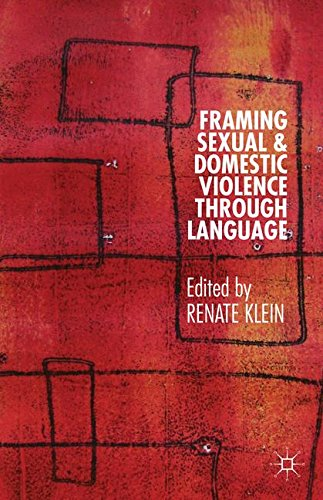 Framing Sexual and Domestic Violence through Language by Palgrave Macmillan