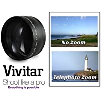 Hi Def Pro 2.2x Telephoto Lens For Sony DSC-RX100 DSC-RX100M2 DSC-RX100 II (58mm lens with 49mm ring. VFA-49R1 adapter Not Included)