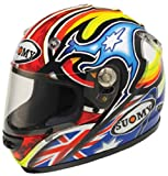 Suomy Vandal Pitt Helmet (Red/White/Blue, XX-Large)