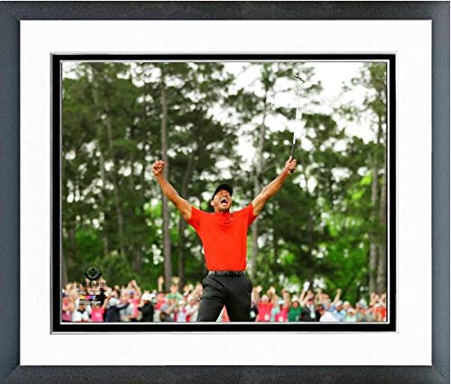 Tiger Woods 2019 Masters Tournament Photo (Size: 12.5