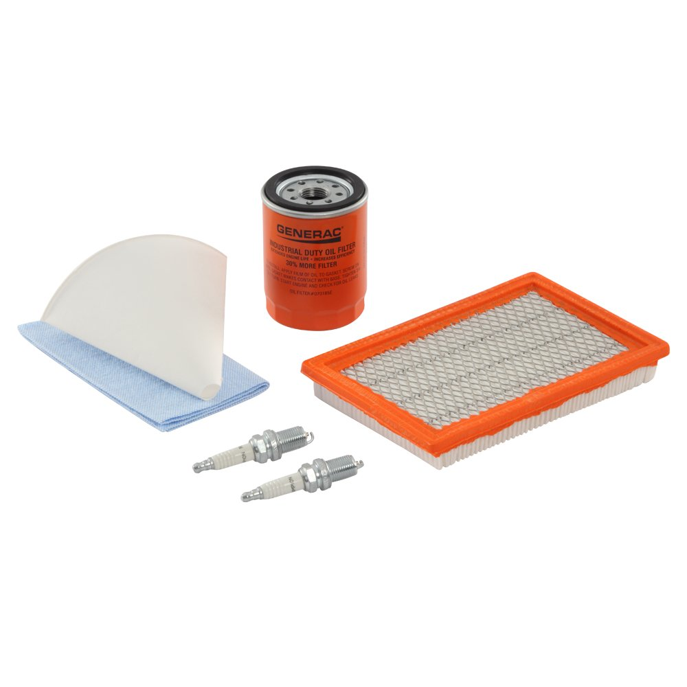 Generac 6484 Scheduled Maintenance Kit for Home Standby Generators with 12-18 kW 760cc-990cc Engines by Generac