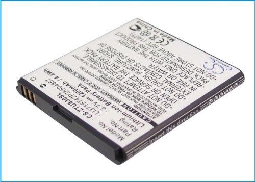 Price comparison product image Cameron Sino 1200mAh Battery for ZTE Concord V768, G882, Kis 3, Lord, N788, Open C, Prelude, Prelude Z992, U788, U812, U830, U880S, V6700 (1200mAh)