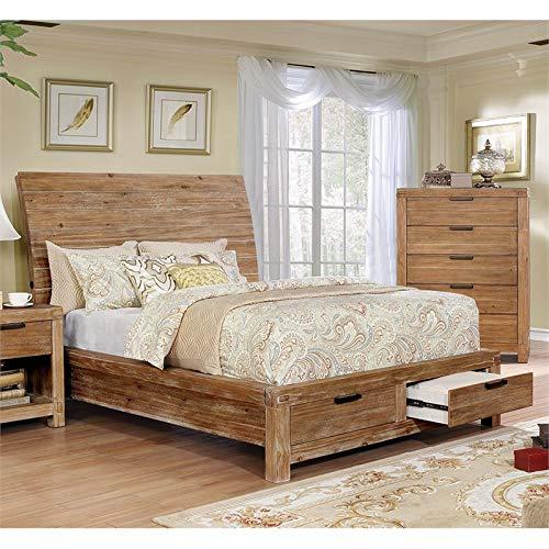 Furniture of America Celine California King Sleigh Storage ()
