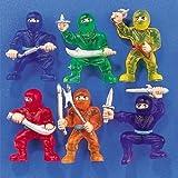 little ninja figures - NINJA WARRIORS (6 DOZEN) - BULK