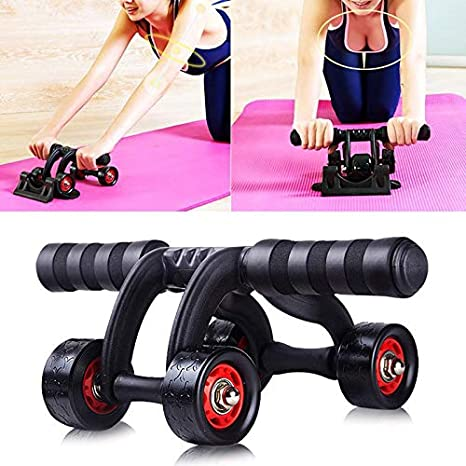 Amazon.com : mghome home gym fitness equipment ab roller workout