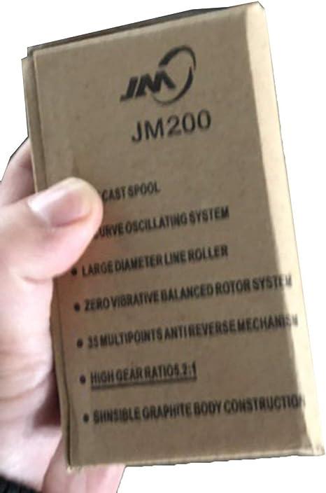 leichte Galvanik-Angelrollen Austauschbare Angelrolle f/ür Angelrollen mit durchsichtiger Angelschnur JohnJohnsen Yumoshi New JM200 Schlanke