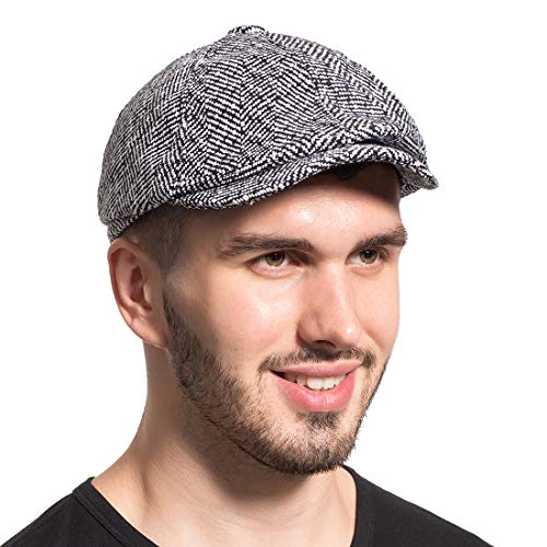 Leucos Ticte Gatsby Newsboy Hat Men Women