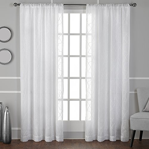 Embroidered Curtains: Amazon.com