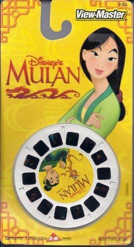 View Master Disney's Mulan 3D 3 Reel Set by View Master