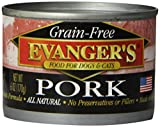 Evanger'S 776285 24-Pack Grain Free Pork For Dogs And Cats, 6-Ounce