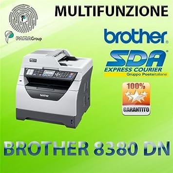 Impresora multifunción láser B/N Brother 8380DN Duplex ...