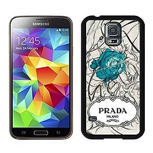 Popular Designed Phone Case For Samsung Galaxy S5 I9600 G900a G900v G900p G900t G900w With Prada 47 Black Phone Case