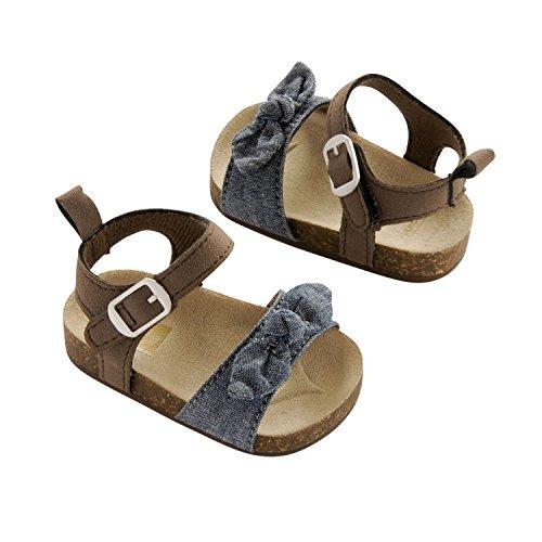 Carters Baby Leather Newborn Sandal
