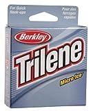 Berkley Trilene Micro Ice Fishing Line 110 Yd Spool(6-Pound,Clear Steel) by Berkley