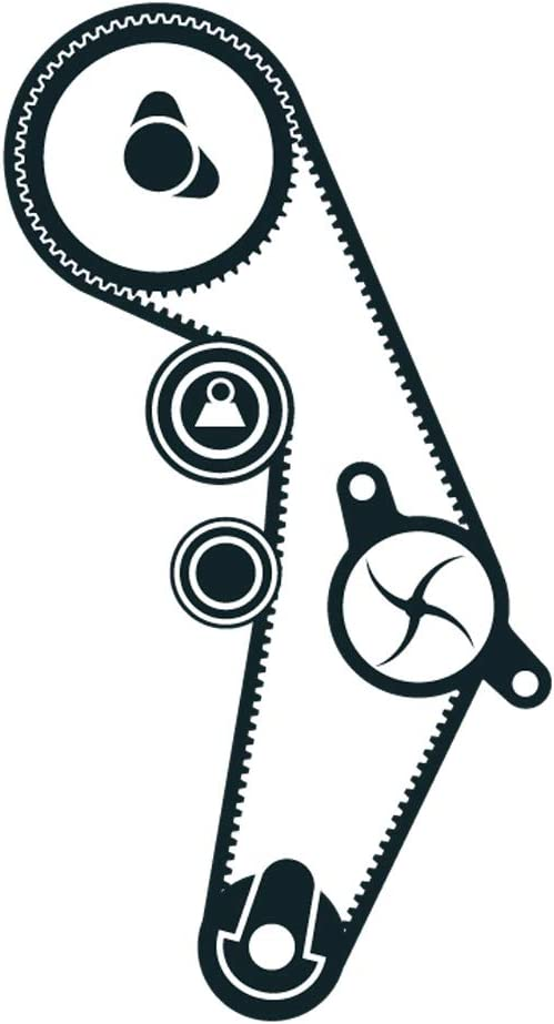 GATES Timing Belt Water Pump Kit KP85491XS-1 Discount Car Parts