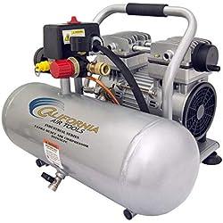 California Air Tools 2010ALFC Ultra Quiet, Oil-Free & Lightweight 1.0 hp Industrial Air Compressor, 2.0 gallon