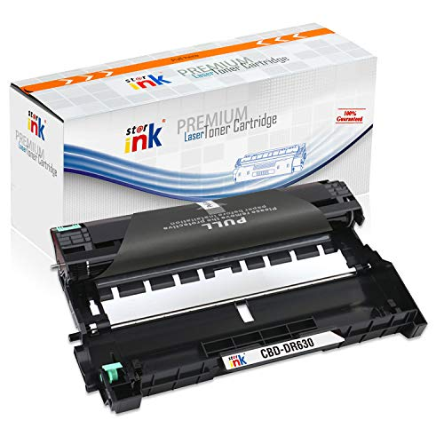 Starink Compatible Drum Unit Replacement for DR630 DR-630 Use with TN660 Toner HL-L2300D HL-L2380DW HL-L2340DW MFC-L2707 L2700DW L2740DW DCP-L2520DW HL-L2320D HL-L2360DW Printer 1 Pack