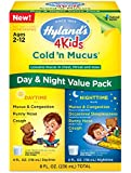 Hyland's 4 Kids Cold 'n Mucus Day & Night Value Pack, Natural Relief of Cold & Mucus, 8 Ounces