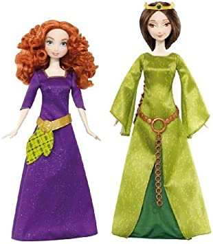 Amazon.es: Disney/Pixar Brave Merida & Queen Elinor Doll 2-Pack by ...
