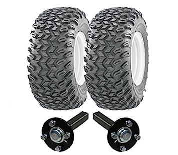 Kit resistente de remolque ATV - Quad remolque - ruedas Wanda + Steelpress producción ejes concentrador / stub, 900 kg de servicio pesado: Amazon.es: Coche ...