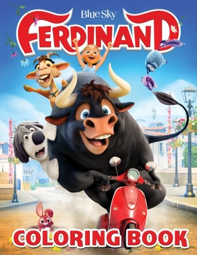 Ferdinand Coloring Book: Coloring Book for Kids and Adults, Activity Book (Exclusive high-quality Illustrations 2018)