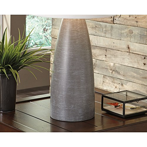 Ashley Furniture Signature Design - Shavontae Table Lamps - Set of 2 - Modern - Contemporary - Gray by Signature Design by Ashley (Image #6)'