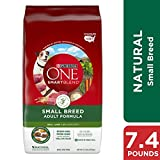 Purina ONE Natural Small Breed Dry Dog Food, Smart...