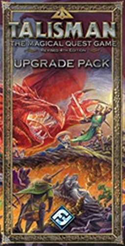 Talisman: The Magical Quest Game: Upgrade Pack With Game Cards and Figurines and Tokens: Amazon.es: Fantasy Flight Games: Libros en idiomas extranjeros