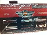 Harley Davidson Motorcycle HO Train Car 95th Anniversary Set Walthers 99299-98V