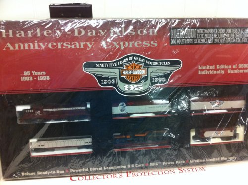Harley Davidson Motorcycle HO Train Car 95th Anniversary for sale  Delivered anywhere in USA