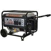Dirty Hand Tools 104502, 5500 Running Watts/6500 Starting Watts, Storm Ready Gas Powered Portable Generator, EPA...