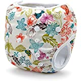 Storeofbaby Baby Swim Diaper for Baby Leakproof Reusable Adjustable Infant 0 3 Years (Buff)