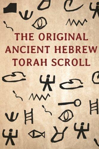 The Original Ancient Hebrew Torah Scroll Torah Scroll