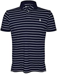 Men's Custom Fit Multistripe Polo