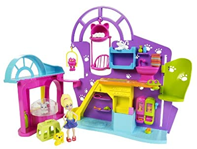 Polly Pocket Playtime Pet Shop Playset by Mattel
