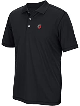 Portland Trail Blazers polo golf camiseta Big & Tall tamaños, Negro