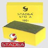 diamond hand polishing pads for marble hand polishing: Grit 100 (Concrete, Glass, Stone, Granite) 1 Piece by Stadea