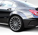 Duraflex Replacement for 2014-2015 Mercedes CLA Class Black Series Look Wide Body Rear Fenders - 4 Piece