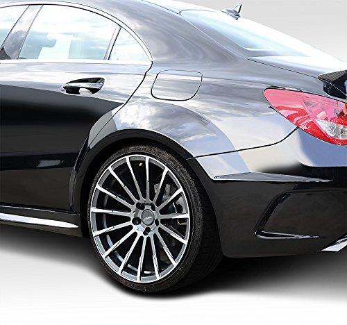 Duraflex Replacement for 2014-2015 Mercedes CLA Class Black Series Look Wide Body Rear Fenders - 4 Piece by Duraflex (Image #7)