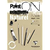 Clairefontaine Paint'On Naturel glued pad 250g 30 sheet A3