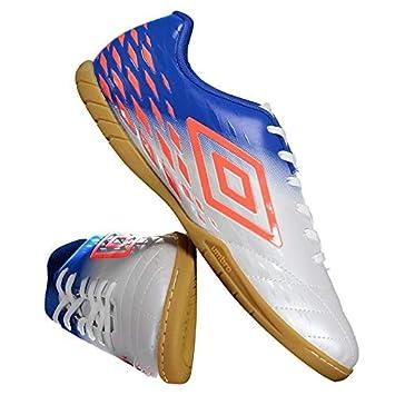 Chuteira Umbro Fifty II Futsal Branca  Amazon.com.br  Esportes e ... 3f96152dff70d