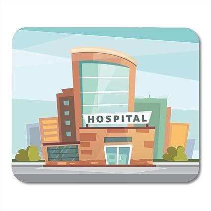 Amazoncom Boszina Mouse Pads Paramedic Public Hospital Building