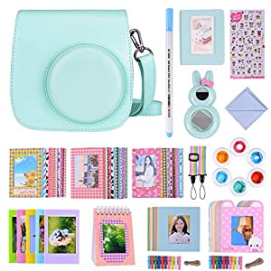 Bsuuy 16 in 1 Instax Mini 9 Camera Accessories Set for Fujifilm Instax Mini 9/ Mini 8/ Mini 8+ Camera