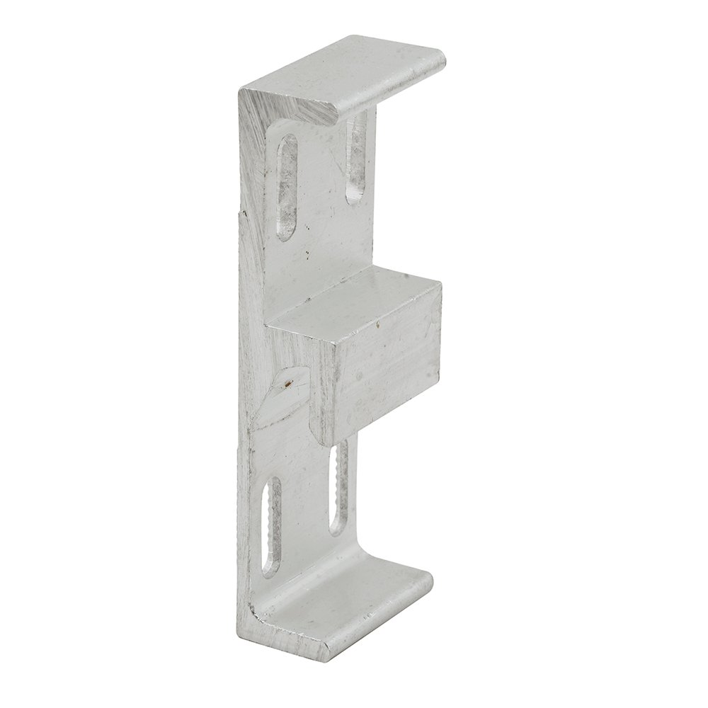 Slide-Co 152481 Sliding Door Keeper, 1-1/16 Wide, Extruded Aluminum