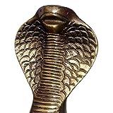 Upper Deck Cobra Head Walking Stick with Antique Brass Handle