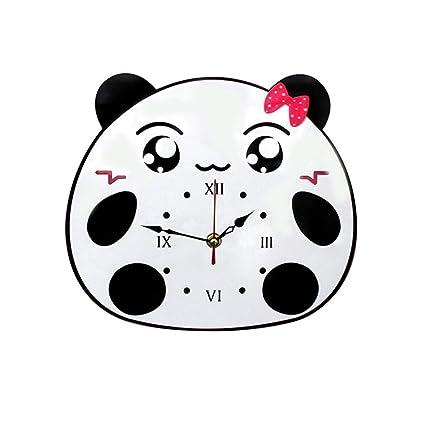 Horloge Murale Simple Style De Dessin Animé Mignon Simple