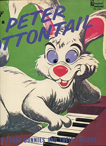WALT DISNEY PRESENTS PETER COTTONTAIL PLUS OTHER FUNNY BUNNIES AND THEIR FRIENDS /**RARE VINYL**